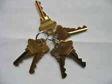 SCHLAGE PRECUT SC1 5 PIN KEYS - 1 SET OF 6 ALL KEYS THE SAME