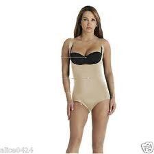 Dr. Rey Shapewear Shape57 Size Small  Nude Control Bodysuit  New