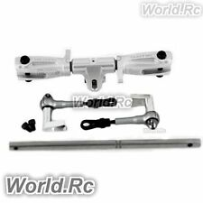 Tarot 450 DFC Main Rotor Head Upgrade Set Parts Silver RC Helicopter (RH45162-A)