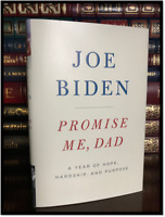 Promise Me, Dad ✎SIGNED✎ by VP JOE BIDEN New Hardback 1st Edition First Printing