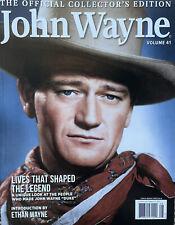 BRAND NEW JOHN WAYNE VOLUME 41 OFFICIAL COLLECTOR'S EDITION MAGAZINE 2021