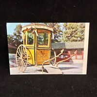 Vintage Post Card Empress Dowager's Sedan Chair China