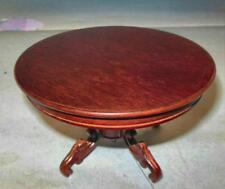VICTORIAN DINING TABLE MAHOGANY VINTAGE MUSEUM DOLLHOUSE FURNITURE MINIATURES