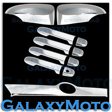 11-14 Toyota Camry Chrome Mirror w.Signal+4 Door Handle+Tailgate Liftgate Cover