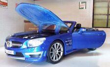 Voitures, camions et fourgons miniatures bleus Maisto pour Mercedes