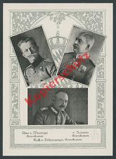 Heerführer Königreich Bayern Wenninger Scanzoni Dellmensingen Adel Wappen 1915