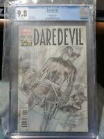 Daredevil #1 - CGC 9.8 - 75th Anniversary 1:300 Ross Sketch Variant
