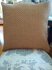 """22"""" Ralph Lauren Woven Linen Pillow"""