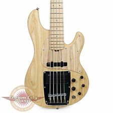 Brand New Ibanez ATK815E Premium ATK Series 5-String Electric Bass Natural Flat