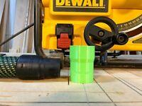 Festool Cleantec 36mm Hose Adapter for Dewalt Table Saw 2 1/4 inch Dust Port