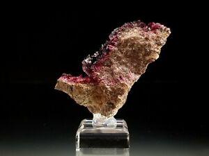 Pink Cobaltoan Calcite & Magenta Purple Roselite Crystal Specimen #4
