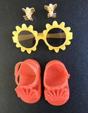 "Sunglasses & Sandals & Barrettes Wellie Wisher 14.5"" Clothes for American Girl"