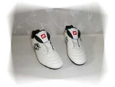 Chaussures Football Crampons Moulés Blanc Noir Lotto Pointure 38