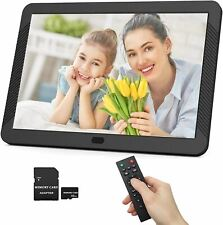 Digital Picture Frame 1920x1080 IPS Screen Include 32GB SD Card 16:9 1080P Video