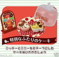 Re-ment Miniatures Minnie Mouse birthday Cake Coffee Cafe Dessert rement No.06