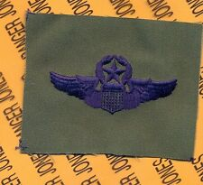 USAF Air Force Master Command Pilot Aviation wing cloth patch