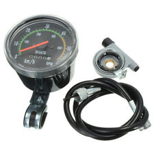 Mechanical Odometer Speedometer Resettable RPM For Bicycle Bike Motorcycle V1Y7
