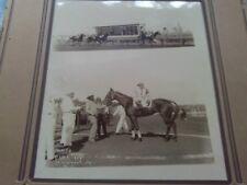Rare 1900s Photo Full-Up Horse Race Track Jockey Black Man Finish Kansas City Mo