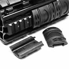 12 Pcs Tactical Rifle Weaver Picatinny Hand Guard Quad Rail Protect Covers Black