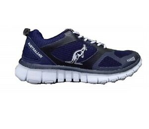 AUSTRALIAN Sneakers Ginnastica Unisex Lacci AU612 Navy, Blu, Man, Woman