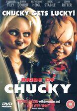 Bride Of Chucky [DVD] [1999] Jennifer Tilly, Brad Dourif Brand New and Sealed