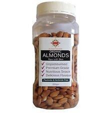 Organic Almonds 800gm Unpasteurised