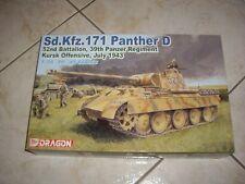 DRAGON SD.KFZ. 171 PANTHER D 52nd battalion 39th panzer regi  PLASTIC MODEL 1/35