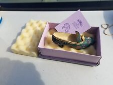 If The Shoe Fits Model Lp8655 Miniature Shoe The Leonardo Collection