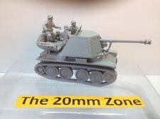 EWM Garm24 1/76 Diecast WWII German Marder III (h)Sdkfz 138 + 3 Crew