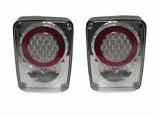 DEPO 07 08 09 10 11-15 Jeep Wrangler JK Clear LED Rear Tail Light Lamp Set 4x4