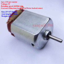 1pcs Toy Motor DC 3V 16500R/min 130 motors Test Buggies Mini New Electric Motor