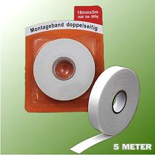 Profi Spiegelklebeband Doppelseitiges Spiegelband Acrylatklebeband 66m x 19mm