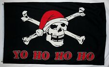 New listing Yo Ho Ho Ho Christmas Pirate Flag 3' X 5' Indoor Outdoor Holiday Banner