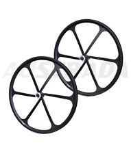 TENY 700C Road Bike Disc Brake Wheelset For Sram Shimano 8 9 10 11 Speed Black