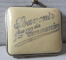 Antico borsellino  - oggetto da vetrina!Souvenir prima comunione! primi '900