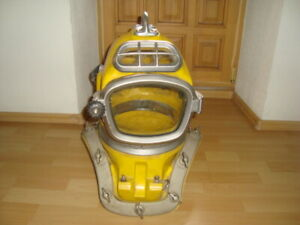 Original Diver's Helmet Dräger DM 220 Helmtaucher Deep Sea(escafandra,casque)