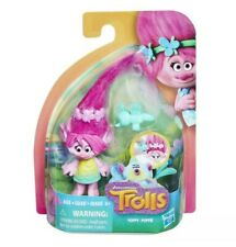 "Trolls DreamWorks Trolls Poppy Collectible 4"" Figure with Critter Hasbro New"