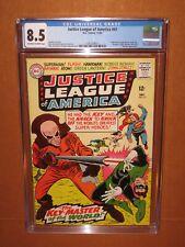 Justice League of America #41 CGC 8.5  (it looks better!) 1965 12 HD pix INSURED