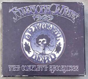 Grateful Dead Fillmore West 1969 The Complete Recordings 10 CD Boxed Set #5918