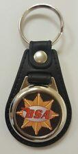 BSA Logo Medallion Keyring, Brand New