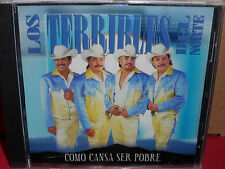 Los Terribles del Norte - Como Cansa Ser Pobre CD Rare LATIN BRAND NEW
