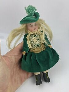 Antique Bisque Doll signed 878 2 - Simon & Halbig ? 6.5 inch Composition Body