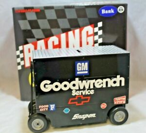 NASCAR Diecast #3 Dale Earnhardt GM Goodwrench Pit Wagon Bank 1:16 Scale