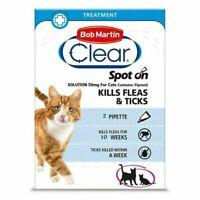 Bob Martin Cat Flea Clear Spot On 1 Tube!