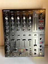 Behringer Pro Mix DJX750 5-Channel DJ Mixer w/ Digital FX BPM
