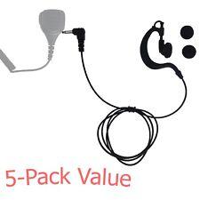 5Pc 3.5mm Listen-Only Earpiece for Kenwood's Motorola's Baofeng's Remote Speaker