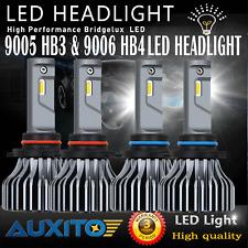 9005 + 9006 Headlight Kit Hi/Lo Light LED Bulbs 6000K Combo Total 18000LM B1 EOA