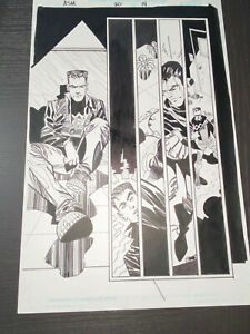 ERIK LARSEN & John Beatty AMAZING SPIDER-MAN #20 page 14 original Comic Art