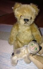 Konvolut Lot Steiff Teddybär und Schuco Katze, Affe, Cat, Monkey, Bear