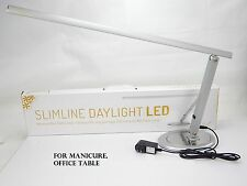 MANICURE NAIL TABLE LAMPS SLIMLINE DAYLIGHT LED OFFICE LAMP LED LIGHT 10W